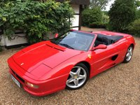 1997 FERRARI 355 3.5 SPIDER 2d  £SOLD