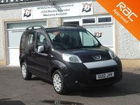 USED 2012 12 PEUGEOT BIPPER 1.2 HDI TEPEE OUTDOOR 5d 75 BHP