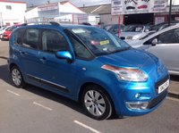 USED 2012 12 CITROEN C3 PICASSO 1.6 PICASSO EXCLUSIVE HDI 5d 90 BHP Diesel, £30 year road tax, 12 months warranty.