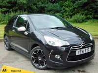 USED 2011 61 CITROEN DS3 1.6 HDI DSPORT PLUS 3d 110 BHP LOW MILEAGE AND 128 POINT AA INSPECTED