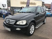 USED 2003 03 MERCEDES-BENZ M CLASS 2.7 ML270 CDI 5d 163 BHP 7 Seater