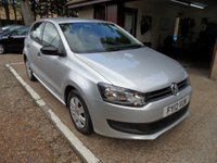 USED 2012 12 VOLKSWAGEN POLO 1.2 S A/C 5d 60 BHP FULL 12 MONTHS MOT, 6 MONTHS ROAD TAX, 6 MONTHS WARRANTY