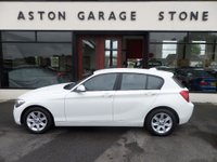 USED 2013 63 BMW 1 SERIES 1.6 114D ES 5d 94 BHP **1 OWNER * FSH ** **£20 ROAD TAX**