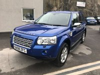 2008 LAND ROVER FREELANDER 2.2 TD4 GS 5d 159 BHP £6995.00