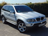 USED 2004 54 BMW X5 3.0 D SPORT 5d AUTOMATIC 215 BHP * FULL HEATED LEATHER INTERIOR * SATELLITE NAVIGATION & BLUEOOTH*