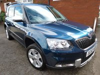 2014 SKODA YETI 1.6 OUTDOOR ELEGANCE GREENLINE II TDI CR 5d 103 BHP LEATHER £9488.00