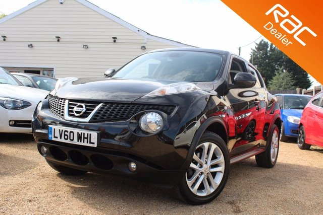 View our 2010 60 NISSAN JUKE 1.6 TEKNA 5d 117 BHP