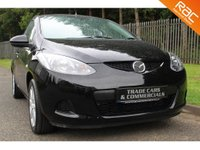 USED 2008 08 MAZDA 2 1.4 TS2 D 5d 68 BHP A CHEAP CAR WITH FANTASTIC ECONOMY, SERVICE HISTORY AND M.O.T UNTIL AUGUST 2018!!!
