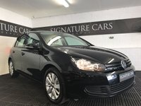 USED 2012 61 VOLKSWAGEN GOLF 1.6 MATCH TDI BLUEMOTION TECHNOLOGY 5d 103 BHP