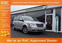 USED 2010 10 CHRYSLER GRAND VOYAGER 2.8 CRD LIMITED 5d AUTO 161 BHP FINANCE FROM ONLY £233.30pm