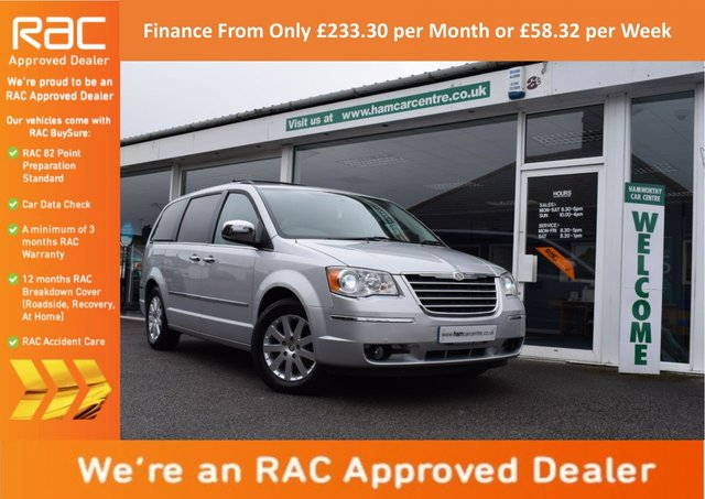 2010 10 CHRYSLER GRAND VOYAGER 2.8 CRD LIMITED 5d AUTO 161 BHP
