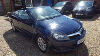 USED 2009 59 VAUXHALL ASTRA 1.6 TWIN TOP SPORT 3d 114 BHP