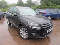 USED 2016 16 VOLKSWAGEN TIGUAN 2.0 MATCH EDITION TDI BMT 4MOTION 5d 148 BHP