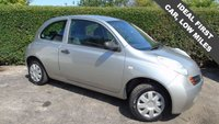 USED 2005 05 NISSAN MICRA 1.2 S 3d 80 BHP LOW MILEAGE, EXCELLENT CONDITION