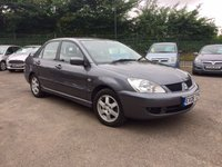 2008 MITSUBISHI LANCER 1.6 EQUIPPE 4d PART EXCHANGE TO CLEAR  £2000.00