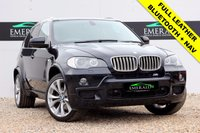 USED 2007 V BMW X5 3.0 D M SPORT 5d AUTO 232 BHP **£0 DEPOSIT FINANCE AVAILABLE**SECURE WITH A £99 FULLY REFUNDABLE DEPOSIT** SAT NAV, BLUETOOTH, REVERSE CAMERA, FRONT AND REAR SENSORS, FULL LEATHER, HEATED FRONT SEATS, FULL LENGTH SUNROOF, DUAL CLIMATE CONTROL AND AIR CON, CRUISE CONTROL, PRIVACY GLASS, COMPREHENSIVE SERVICE HISTORY
