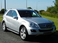2010 MERCEDES-BENZ M CLASS 3.0 ML300 CDI BLUEEFFICIENCY SPORT 5d AUTO 204 BHP £14990.00