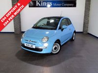 USED 2011 11 FIAT 500 0.9 LOUNGE 3dr