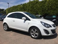 USED 2012 62 VAUXHALL CORSA 1.4 SXI A/C 3d   WITH SERVICE HISTORY NO DEPOSIT  PCP/HP FINANCE ARRANGED, APPLY HERE NOW