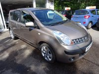 USED 2007 07 NISSAN NOTE 1.6 SVE 5d 109 BHP Very Low Mileage, Comprehensive Service History + Just Serviced by ourselves, MOT until June 2018 (no advisories), Two Previous Owners