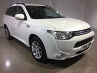 USED 2014 14 MITSUBISHI OUTLANDER 0.0 PHEV GX 3H 5d AUTO 162 BHP One Owner From New/Great Car