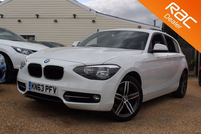 View our 2013 63 BMW 1 SERIES 2.0 118D SPORT 5d 141 BHP