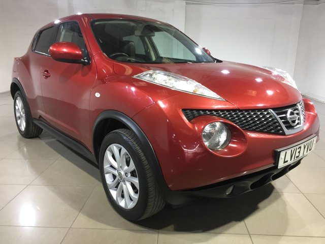 View our 2013 13 NISSAN JUKE 1.6 TEKNA 5d 117 BHP