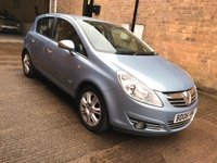USED 2008 08 VAUXHALL CORSA 1.3 CDTi 16v Design 5dr (a/c) Low Mileage FSH LEATHER