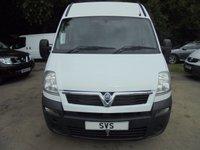 USED 2009 09 VAUXHALL MOVANO 17 SEAT Minibus 2.5 CDTI 120 BHP 6 speed LWB *52,000 MILES*