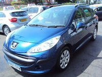 USED 2007 57 PEUGEOT 207 1.4 SW S 5d 94BHP GLASS PANORAMIC SUNROOF+ELECS+