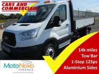 USED 2015 65 FORD TRANSIT TIPPER 350 L2 RWD 1-Stop 125ps