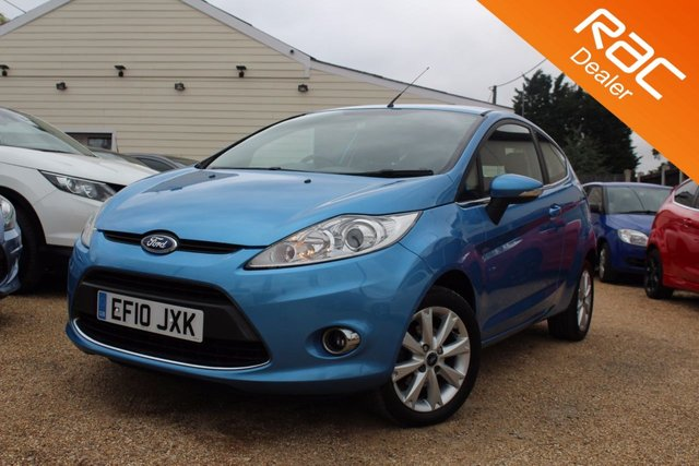 View our 2010 10 FORD FIESTA 1.4 ZETEC 16V 3d 96 BHP
