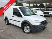 USED 2013 13 FORD TRANSIT CONNECT 1.8 T200 LR VDPF 1d 109 BHP Only 8,000 Miles, Direct NHS Care, Air Conditioning.