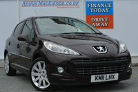 USED 2011 11 PEUGEOT 207 1.6 HDI ALLURE 5d 92 BHP BLUETOOTH HANDS FREE