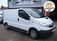 USED 2011 61 VAUXHALL VIVARO SWB 6 SPEED WITH LOW 49,000 MILES JUST SERVICED AND 12 MONTHS MOT 12 MONTHS RAC WARRANTY, PX WELCOME, FINANCE ARRANGED