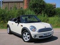 USED 2010 10 MINI CONVERTIBLE 1.6 ONE 2d 98 BHP Full Main Dealer Service History!