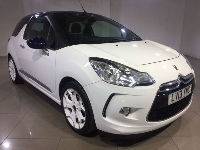 View our 2013 13 CITROEN DS3 1.6 DSTYLE PLUS 3d 120 BHP