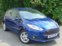 USED 2015 15 FORD FIESTA 1.2 ZETEC 5d  **HEATED FRONT WINDSCREEN**