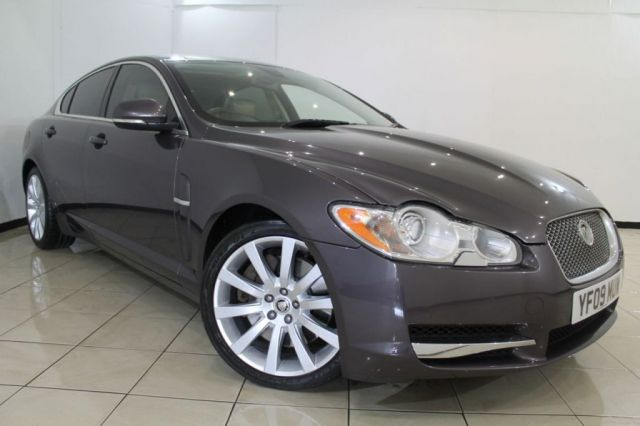 View our 2009 09 JAGUAR XF 3.0 V6 PREMIUM LUXURY 4DR AUTOMATIC 240 BHP