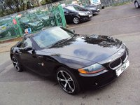 USED 2005 05 BMW Z4 2.0 Z4 SE ROADSTER 2d 148BHP FULL LEATHER SEATS+POWER HOOD+