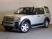 USED 2005 55 LAND ROVER DISCOVERY 3 TDV6 S AUTO 4WD 7 SEATER SIDE STEPS TOWBAR MOT 06/18 4WD. 7 SEATER. STUNNING SILVER MET WITH BLACK CLOTH TRIM. HEATED SEATS. CRUISE CONTROL. SIDE STEPS. 18 INCH ALLOYS. COLOUR CODED TRIMS. PARKING SENSORS. AIR CON. R/CD PLAYER. MFSW. TOWBAR. MOT 06/18. AGE/MILEAGE RELATED SALE. TEL 01937 849492
