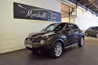 USED 2012 12 NISSAN JUKE 1.5 ACENTA PREMIUM DCI 5d 110 BHP STUNNING CAR - GREAT HISTORY - SAT NAV - AIR CON - BLUETOOTH
