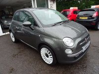 USED 2014 64 FIAT 500 1.2 LOUNGE 3d 69 BHP Low Mileage, One Lady Owner from new, Comprehensive Service History, Just Serviced by ourselves, NEW MOT (minimum 10 months), Great on fuel! Only £30 Road Tax!