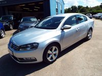 USED 2012 62 VOLKSWAGEN PASSAT 2.0 SE TDI BLUEMOTION TECHNOLOGY 4d 139 BHP FULL SERVICE HISTORY