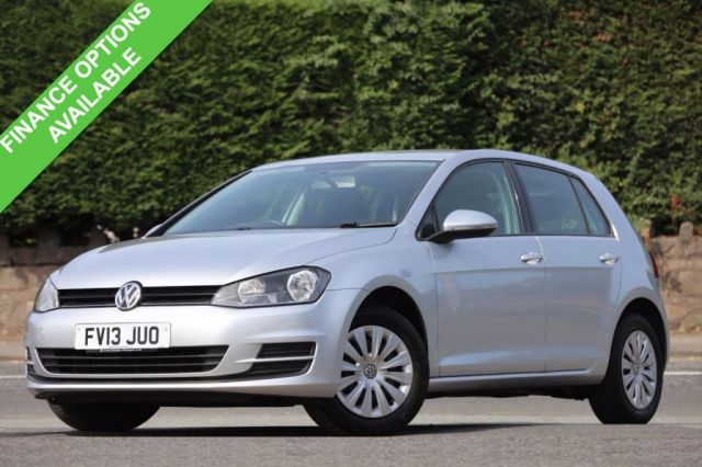 2013 13 VOLKSWAGEN GOLF 1.6 S TDI BLUEMOTION TECHNOLOGY 5d 103 BHP