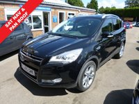 USED 2015 65 FORD KUGA 2.0 TITANIUM X TDCI 5d POWERSHIFT 177 BHP THIS VEHICLE IS AT SITE 1 - TO VIEW CALL US ON 01903 892224