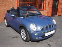 USED 2004 54 MINI CONVERTIBLE 1.6 COOPER 2d  FSH - ONLY 65K - MOT JULY 2018