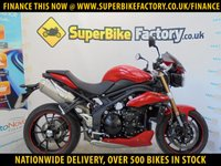 USED 2013 13 TRIUMPH SPEED TRIPLE 1050  GOOD & BAD CREDIT ACCEPTED, OVER 500+ BIKES