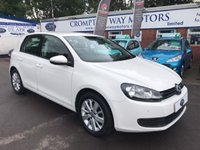USED 2012 62 VOLKSWAGEN GOLF 1.6 MATCH TDI BLUEMOTION TECHNOLOGY 5d 103 BHP 0% FINANCE AVAILABLE PLEASE CALL 01204 317705