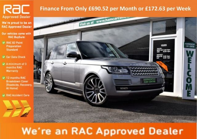 2013 K LAND ROVER RANGE ROVER 4.4 SDV8 AUTOBIOGRAPHY 5d AUTO 339 BHP